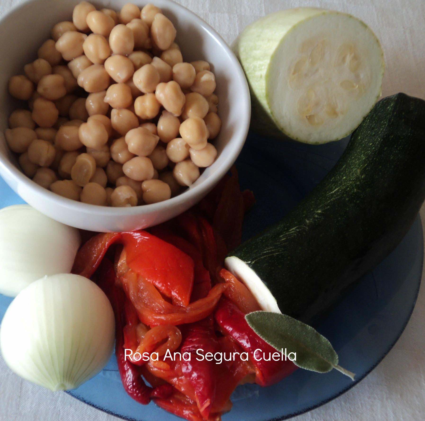 ingredients crema de cigrons i verdures bc